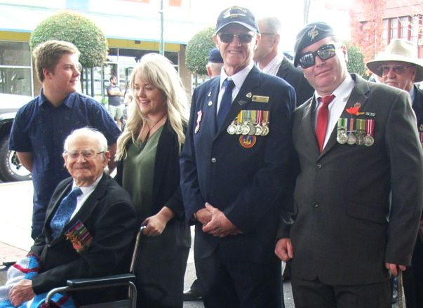 Reg Selwyn - ANZAC Day Morwell
