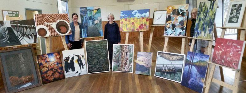 Hazelwood North Hall Art Exhibition