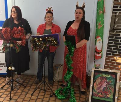 LCC Christmas Festival 21 - Duena Choir