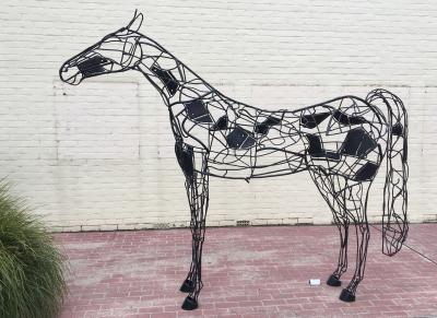 Yinnar Scupture 2021 - Horse in steel
