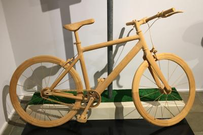 yinnar scupture 2021 - Wooden Bicycle