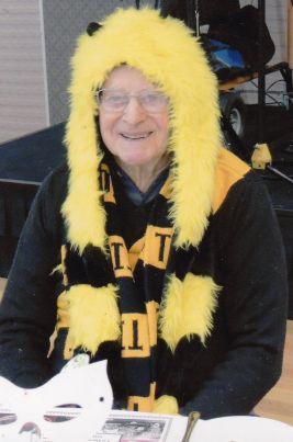 Reg Selwyn - an avid Richmond Supporter