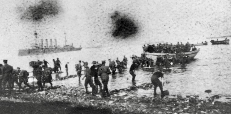 WW1 Landing