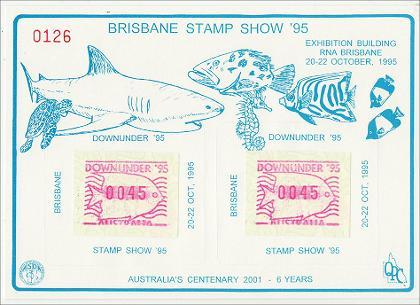 Stamps 1995 Brisbane Stamp Show
