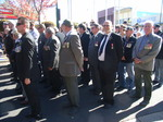 ANZAC Day Morwell Veterans including Churchill Vets ready to march.JPG